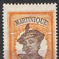 Sellos: MARTINICA FRANCESA // YVERT 92 // 1908-18 ... USADO. Lote 206816205