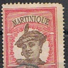 Sellos: MARTINICA FRANCESA // YVERT 65 // 1908-18 ... USADO. Lote 206816380