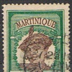 Sellos: MARTINICA FRANCESA // YVERT 64 // 1908-18 ... USADO. Lote 206816476