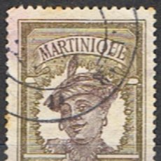 Sellos: MARTINICA FRANCESA // YVERT 62 // 1908-18 ... USADO. Lote 206816561