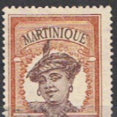Sellos: MARTINICA FRANCESA // YVERT 61 // 1908-18 ... USADO. Lote 206816651