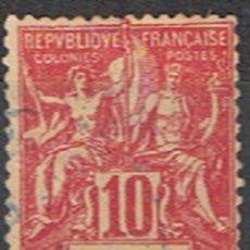 Sellos: MARTINICA FRANCESA // YVERT 45 // 1899-06 ... USADO. Lote 206816826