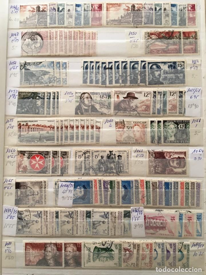 Sellos: FRANCIA, Gran Stock de sellos y series completas en usado, ( Valor en catalogo ++6000€) - Foto 20 - 207874460