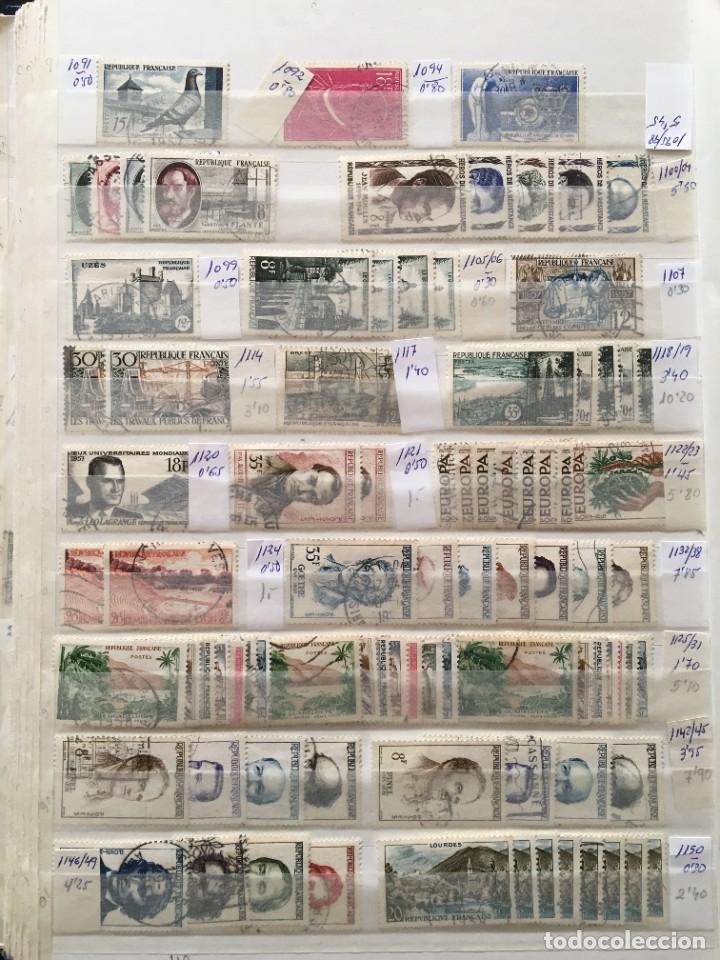 Sellos: FRANCIA, Gran Stock de sellos y series completas en usado, ( Valor en catalogo ++6000€) - Foto 21 - 207874460
