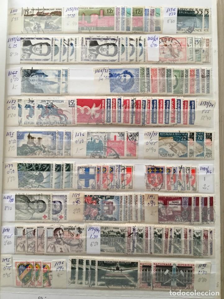 Sellos: FRANCIA, Gran Stock de sellos y series completas en usado, ( Valor en catalogo ++6000€) - Foto 22 - 207874460