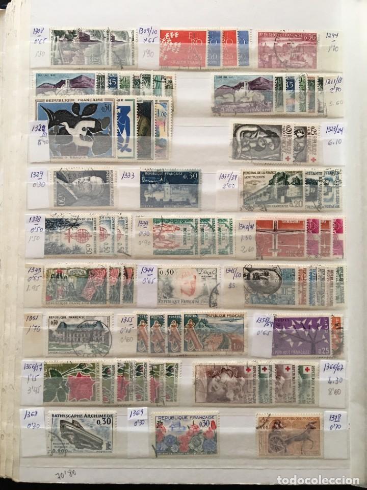 Sellos: FRANCIA, Gran Stock de sellos y series completas en usado, ( Valor en catalogo ++6000€) - Foto 25 - 207874460