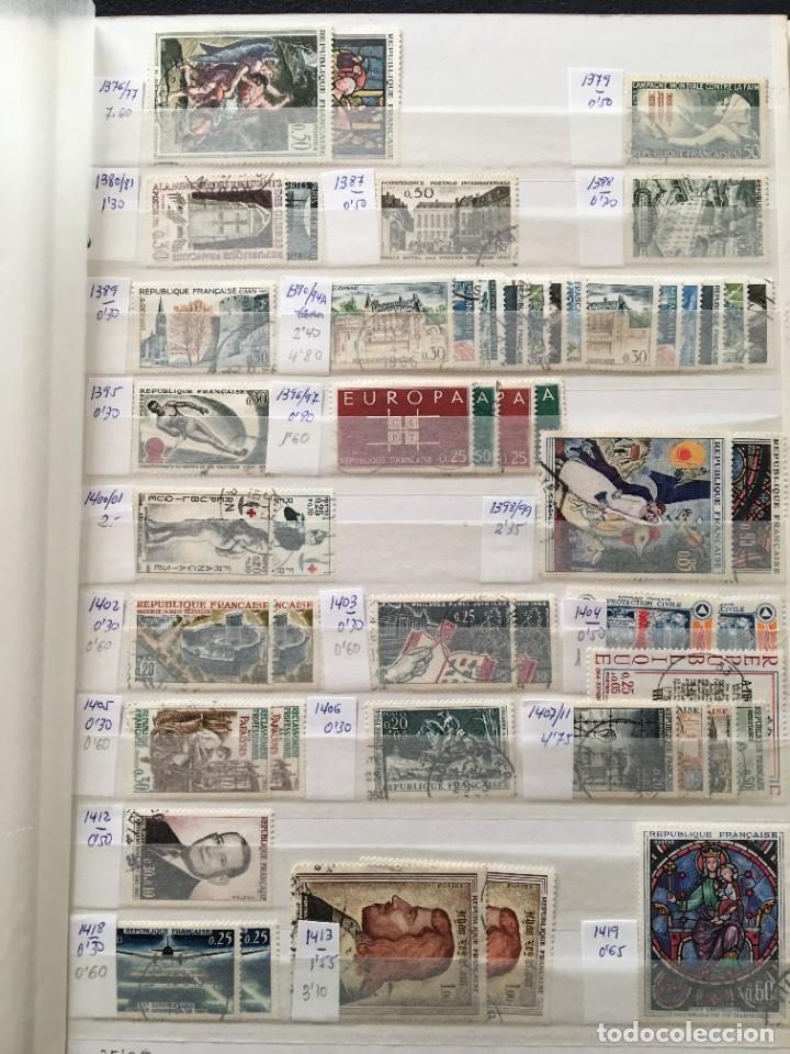 Sellos: FRANCIA, Gran Stock de sellos y series completas en usado, ( Valor en catalogo ++6000€) - Foto 26 - 207874460
