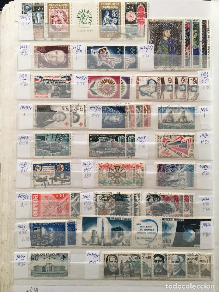 Sellos: FRANCIA, Gran Stock de sellos y series completas en usado, ( Valor en catalogo ++6000€) - Foto 27 - 207874460