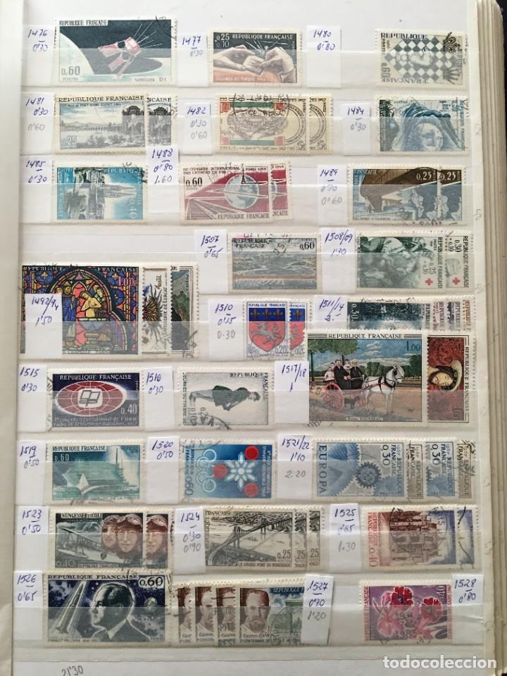 Sellos: FRANCIA, Gran Stock de sellos y series completas en usado, ( Valor en catalogo ++6000€) - Foto 28 - 207874460