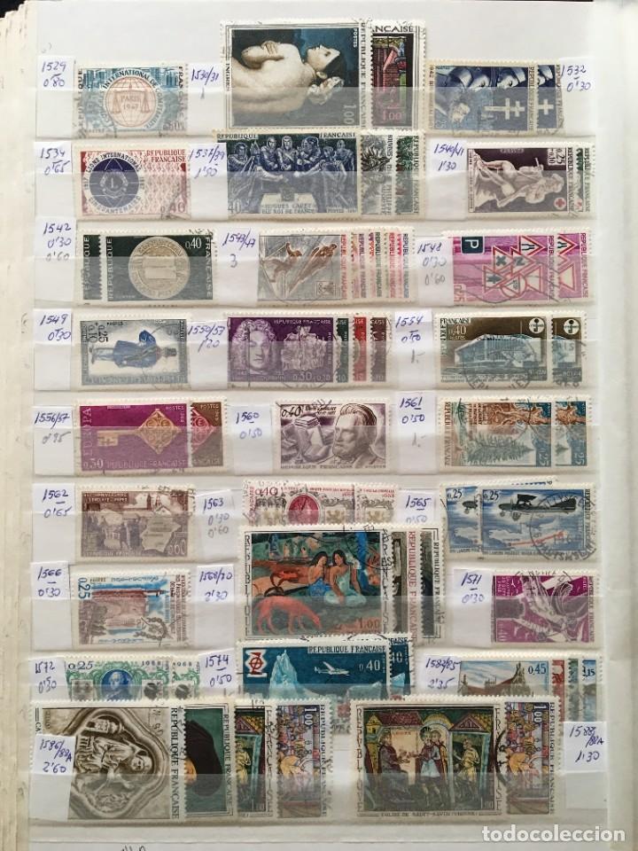Sellos: FRANCIA, Gran Stock de sellos y series completas en usado, ( Valor en catalogo ++6000€) - Foto 29 - 207874460