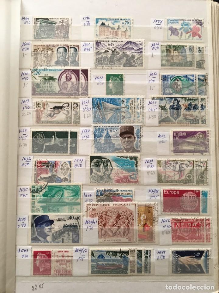 Sellos: FRANCIA, Gran Stock de sellos y series completas en usado, ( Valor en catalogo ++6000€) - Foto 30 - 207874460