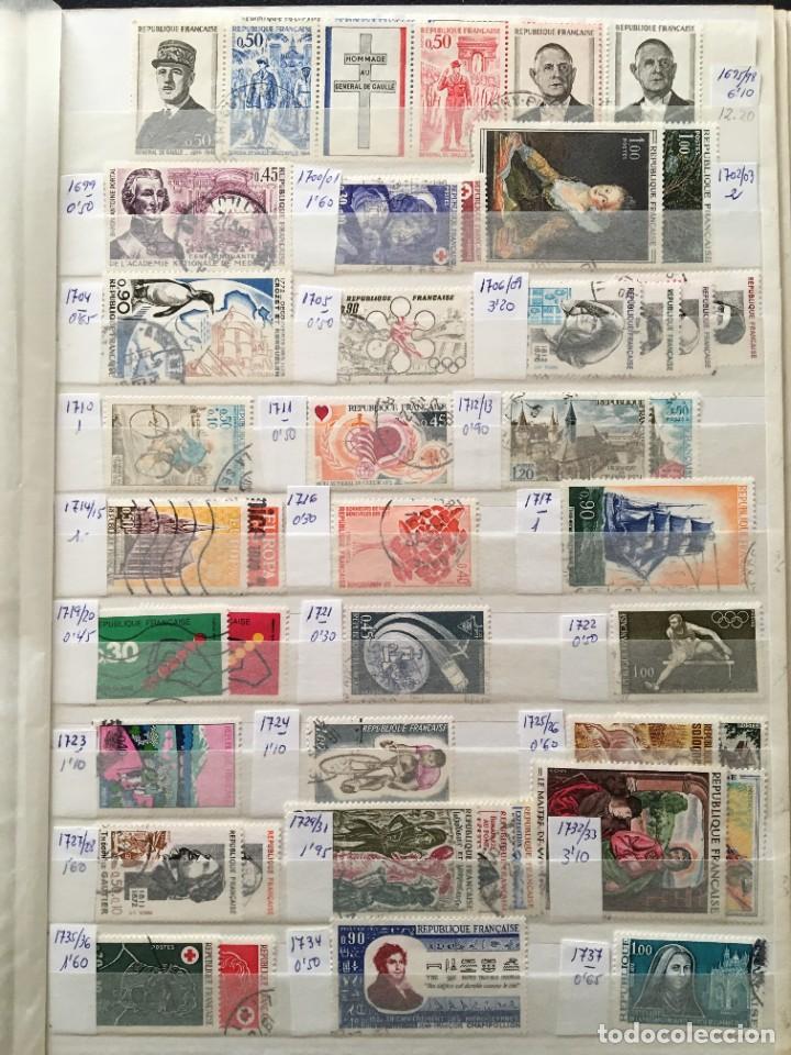 Sellos: FRANCIA, Gran Stock de sellos y series completas en usado, ( Valor en catalogo ++6000€) - Foto 32 - 207874460