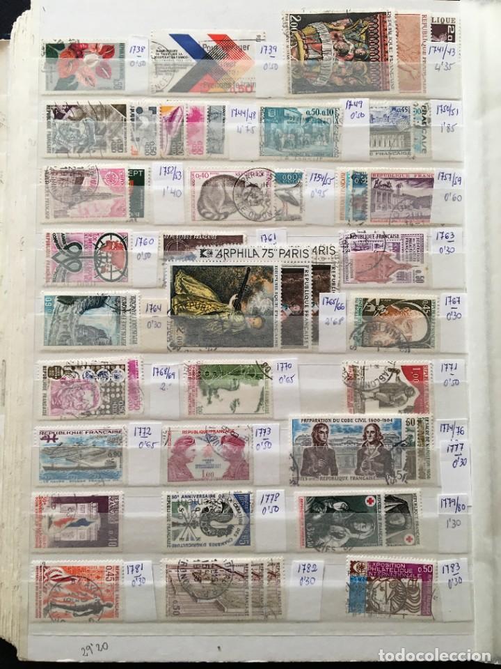 Sellos: FRANCIA, Gran Stock de sellos y series completas en usado, ( Valor en catalogo ++6000€) - Foto 33 - 207874460