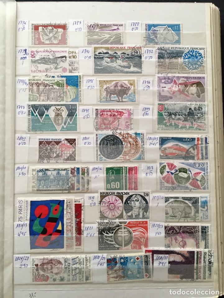 Sellos: FRANCIA, Gran Stock de sellos y series completas en usado, ( Valor en catalogo ++6000€) - Foto 34 - 207874460
