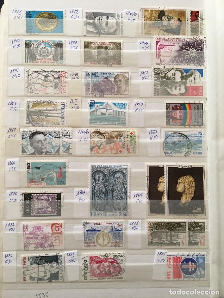 Sellos: FRANCIA, Gran Stock de sellos y series completas en usado, ( Valor en catalogo ++6000€) - Foto 35 - 207874460