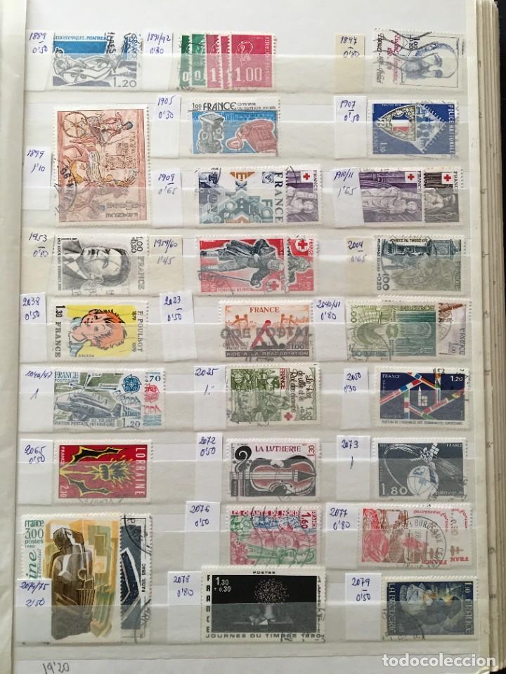 Sellos: FRANCIA, Gran Stock de sellos y series completas en usado, ( Valor en catalogo ++6000€) - Foto 36 - 207874460