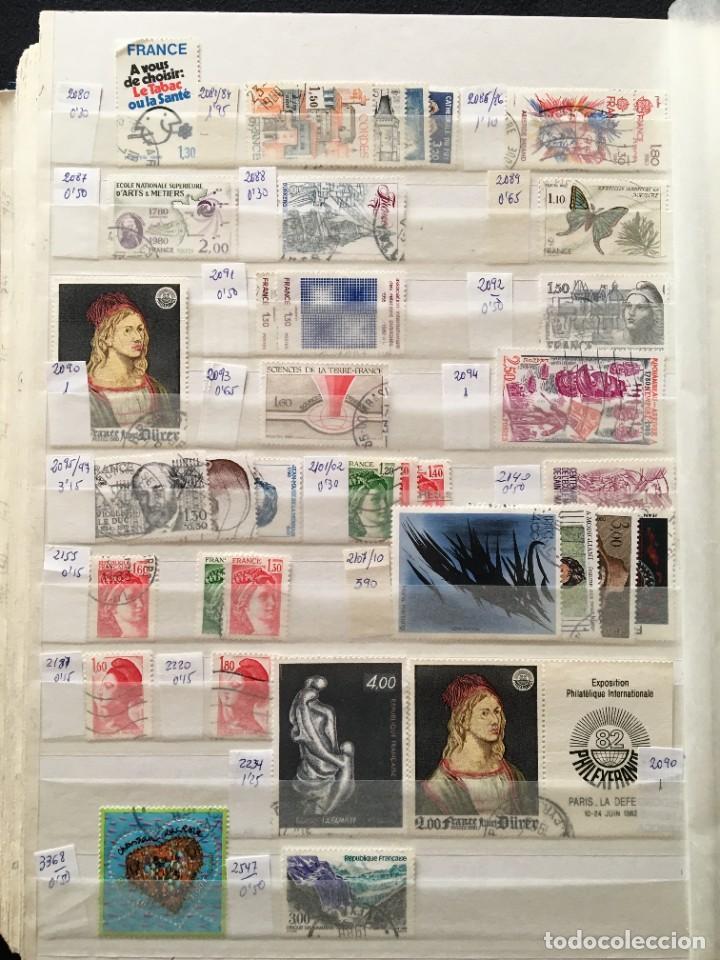 Sellos: FRANCIA, Gran Stock de sellos y series completas en usado, ( Valor en catalogo ++6000€) - Foto 37 - 207874460