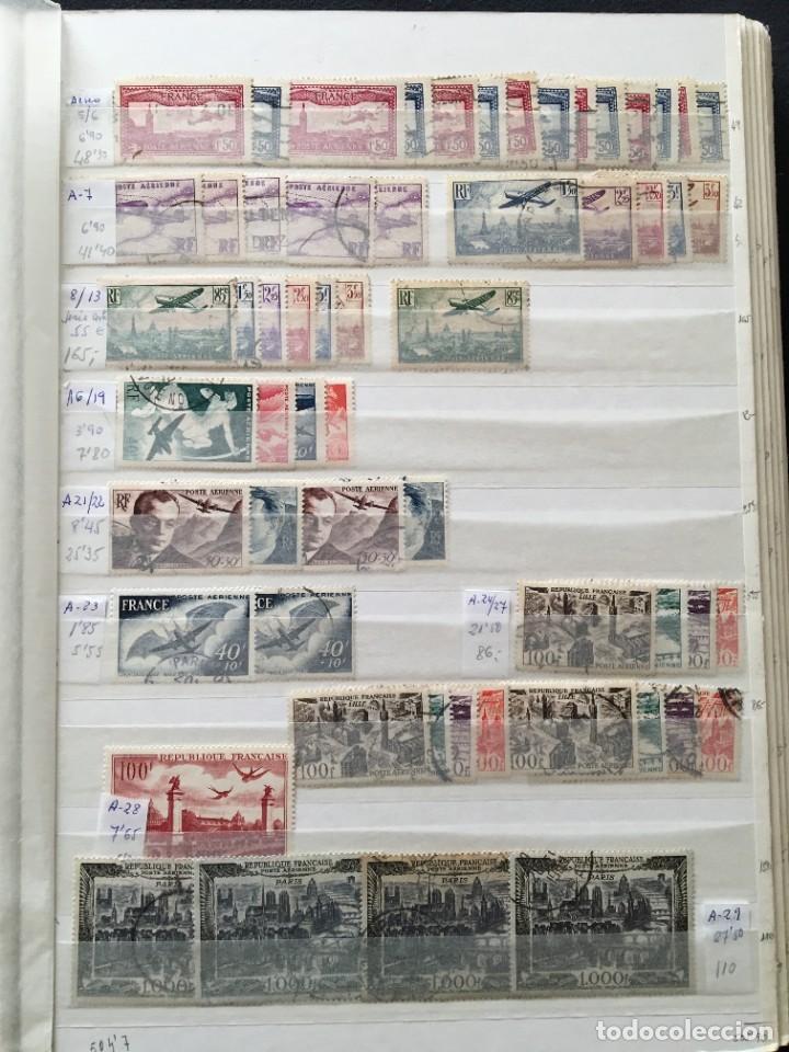 Sellos: FRANCIA, Gran Stock de sellos y series completas en usado, ( Valor en catalogo ++6000€) - Foto 38 - 207874460