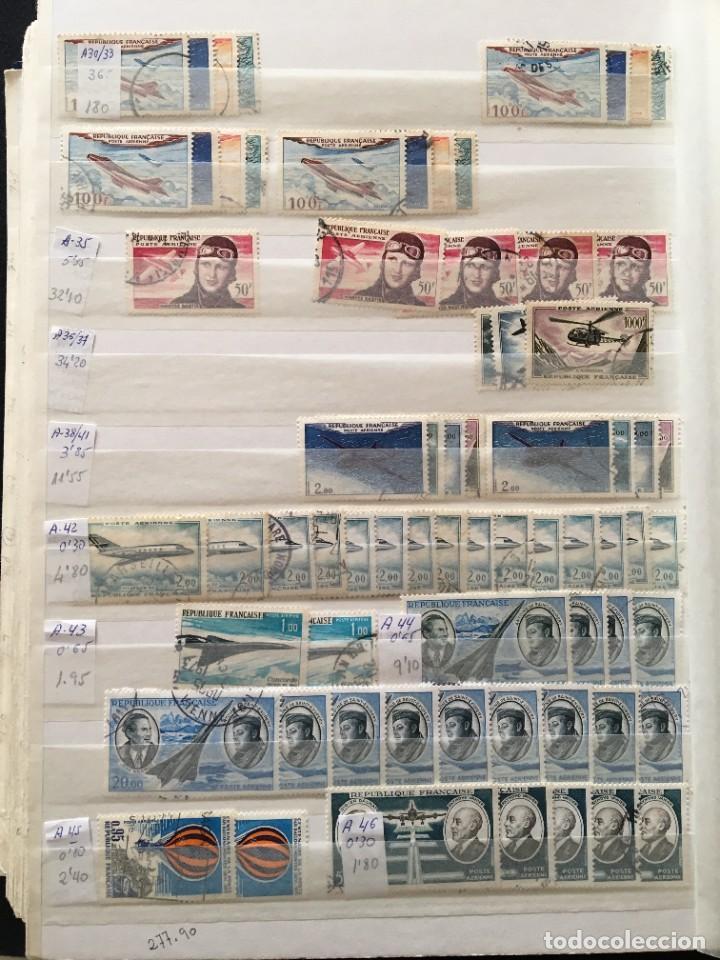 Sellos: FRANCIA, Gran Stock de sellos y series completas en usado, ( Valor en catalogo ++6000€) - Foto 39 - 207874460