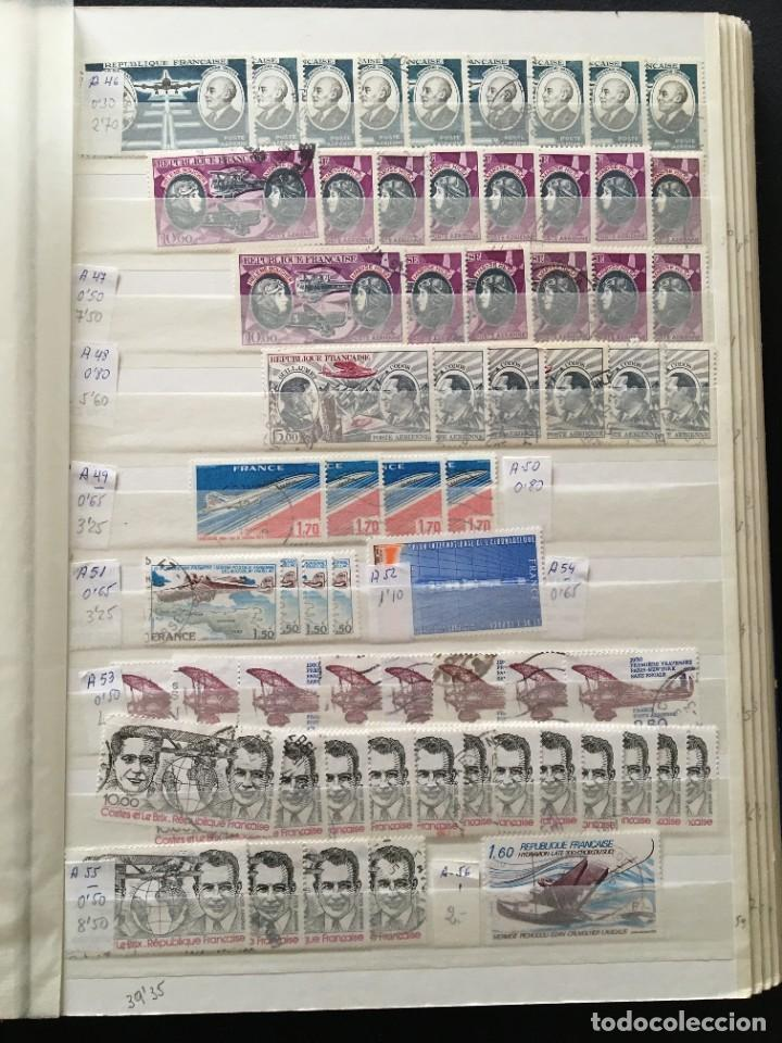 Sellos: FRANCIA, Gran Stock de sellos y series completas en usado, ( Valor en catalogo ++6000€) - Foto 40 - 207874460