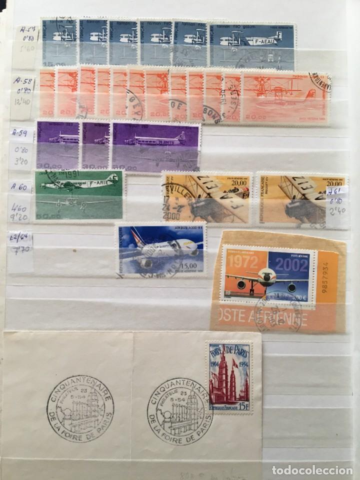 Sellos: FRANCIA, Gran Stock de sellos y series completas en usado, ( Valor en catalogo ++6000€) - Foto 41 - 207874460