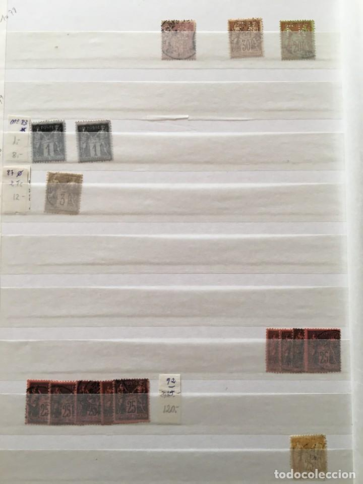 Sellos: FRANCIA, Gran Stock de sellos y series completas en usado, ( Valor en catalogo ++6000€) - Foto 43 - 207874460
