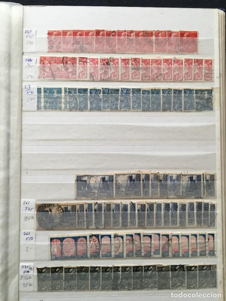 Sellos: FRANCIA, Gran Stock de sellos y series completas en usado, ( Valor en catalogo ++6000€) - Foto 45 - 207874460