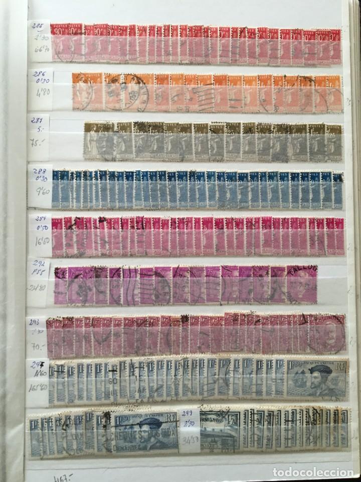 Sellos: FRANCIA, Gran Stock de sellos y series completas en usado, ( Valor en catalogo ++6000€) - Foto 47 - 207874460