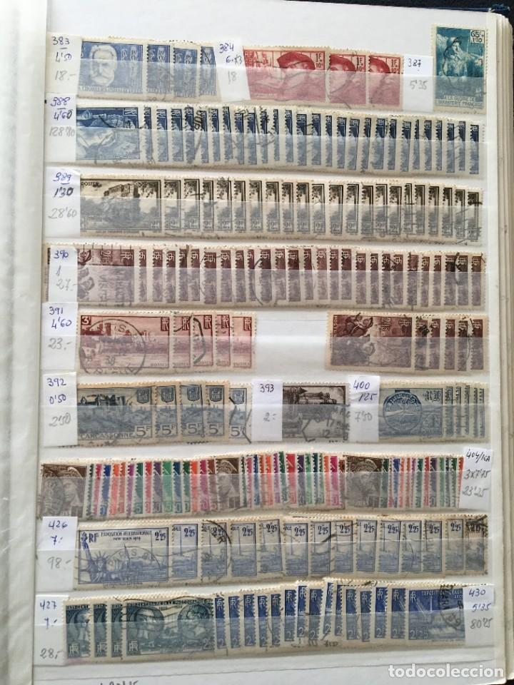 Sellos: FRANCIA, Gran Stock de sellos y series completas en usado, ( Valor en catalogo ++6000€) - Foto 51 - 207874460