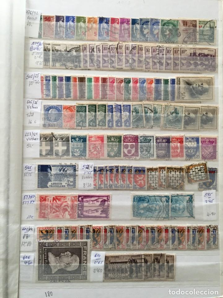 Sellos: FRANCIA, Gran Stock de sellos y series completas en usado, ( Valor en catalogo ++6000€) - Foto 53 - 207874460