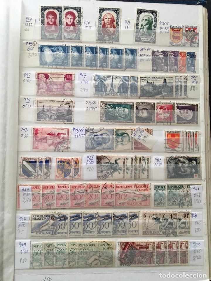Sellos: FRANCIA, Gran Stock de sellos y series completas en usado, ( Valor en catalogo ++6000€) - Foto 57 - 207874460
