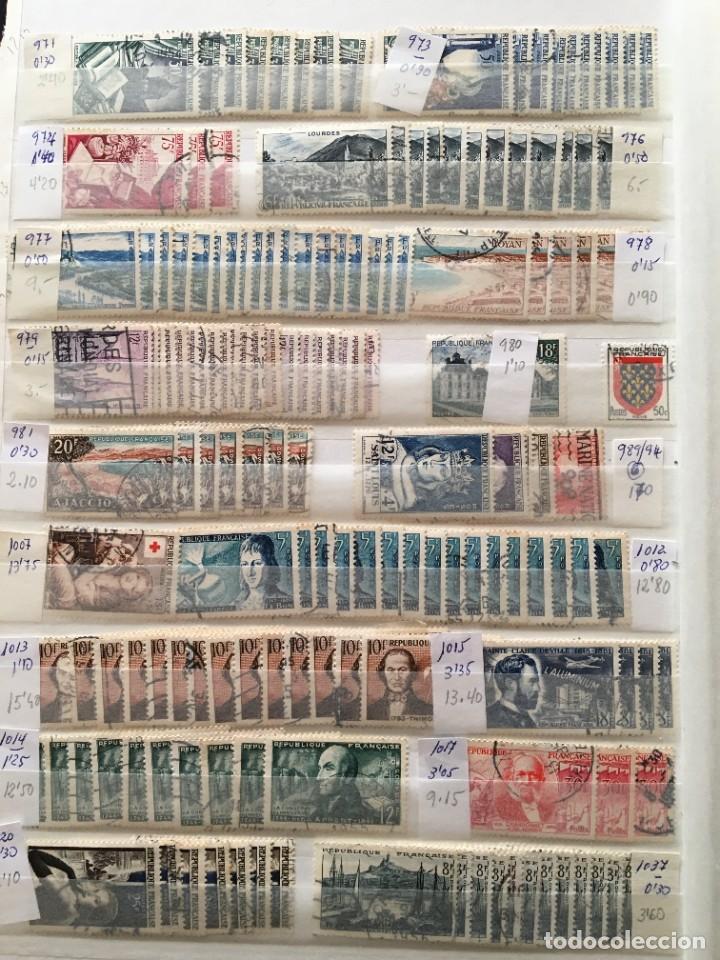 Sellos: FRANCIA, Gran Stock de sellos y series completas en usado, ( Valor en catalogo ++6000€) - Foto 58 - 207874460