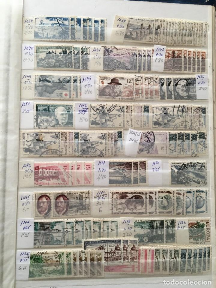 Sellos: FRANCIA, Gran Stock de sellos y series completas en usado, ( Valor en catalogo ++6000€) - Foto 59 - 207874460