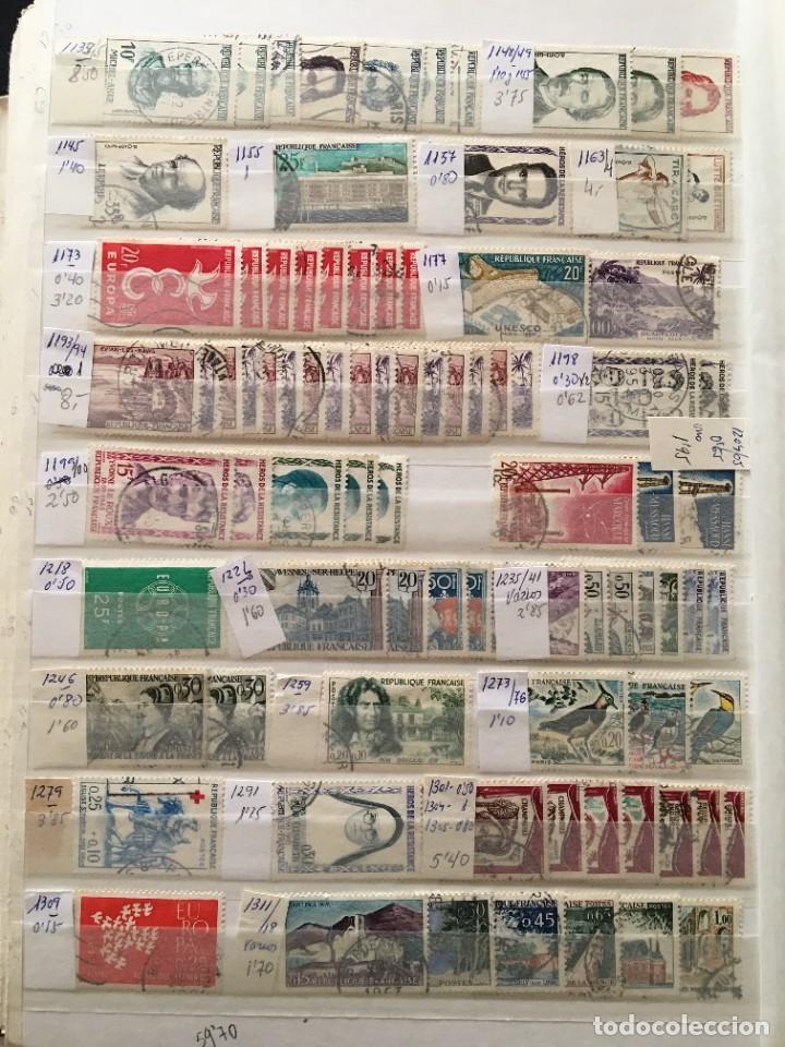 Sellos: FRANCIA, Gran Stock de sellos y series completas en usado, ( Valor en catalogo ++6000€) - Foto 60 - 207874460
