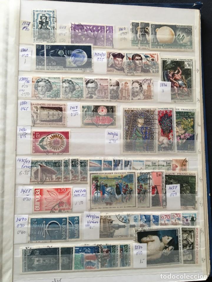 Sellos: FRANCIA, Gran Stock de sellos y series completas en usado, ( Valor en catalogo ++6000€) - Foto 61 - 207874460