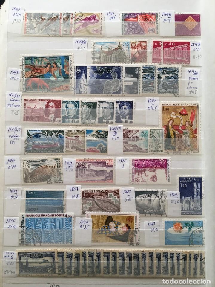 Sellos: FRANCIA, Gran Stock de sellos y series completas en usado, ( Valor en catalogo ++6000€) - Foto 62 - 207874460