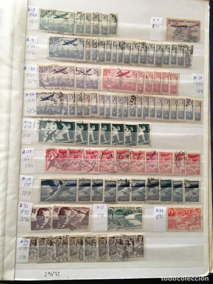 Sellos: FRANCIA, Gran Stock de sellos y series completas en usado, ( Valor en catalogo ++6000€) - Foto 63 - 207874460