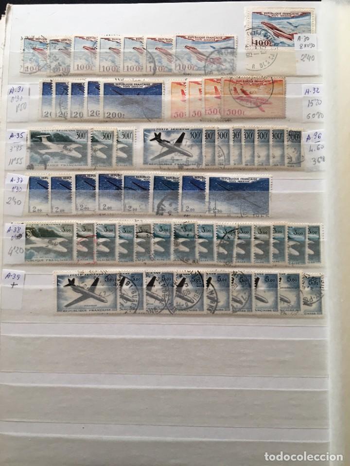 Sellos: FRANCIA, Gran Stock de sellos y series completas en usado, ( Valor en catalogo ++6000€) - Foto 64 - 207874460