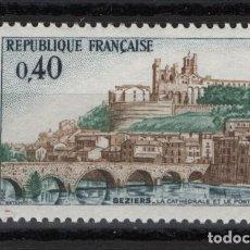 Sellos: R18/ FRANCIA 1968, Y&T 1567 MNH**. Lote 208696230