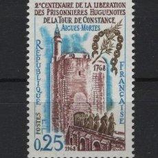 Sellos: R18/ FRANCIA 1968, Y&T 1566 MNH**. Lote 208697710