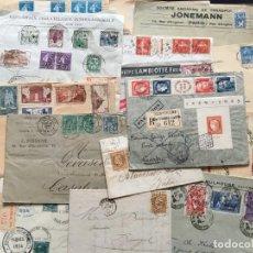 Selos: FRANCIA, LOTE DE CARTAS Y TARJETAS DE DISTINTAS ÉPOCAS,. Lote 210338847
