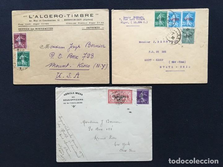 Sellos: COLONIAS FRANCESAS, Lote de 10 Cartas, Argelia, Marruecos, Líbano - Foto 4 - 210340392