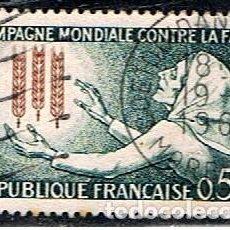Sellos: FRANCIA // YVERT 1379 // 1963 ... USADO. Lote 211582367