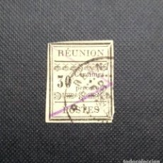Sellos: ANTIGUO SELLO DE FRANCIA 1889, REUNION, SELLOS DE FRANQUEO, POSTAGE DUE STAMP. Lote 212529062
