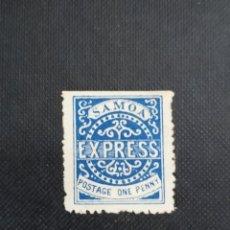 Sellos: ANTIGUO SELLO DE SAMOA 1877, CORREO URGENTE. Lote 212530016
