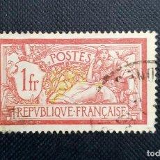 Sellos: SELLO DE FRANCIA,TIPO MERSON, LIBERTAD Y PAZ, 1900, CENTRO DESPLAZADO. Lote 212731151