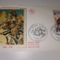 Sellos: EXPÉDITION - ÉGYPTE FIRST DAY COVER AÑO 1972. Lote 218523940