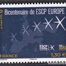 Sellos: 5.- FRANCIA 2020 BICENTENARIO DE LA PCAS EUROPA - 1819-2019. Lote 218813765