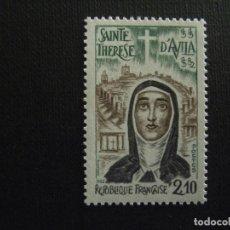 Sellos: FRANCIA Nº YVERT 2249*** AÑO 1982. IV CENTENARIO MUERTE SANTA TERESA DE AVILA. Lote 220797640