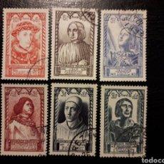 Sellos: FRANCIA YVERT 765/70 SERIE COMPLETA USADA. 1946. PERSONAJES. JUANA DE ARCO. Lote 221326843